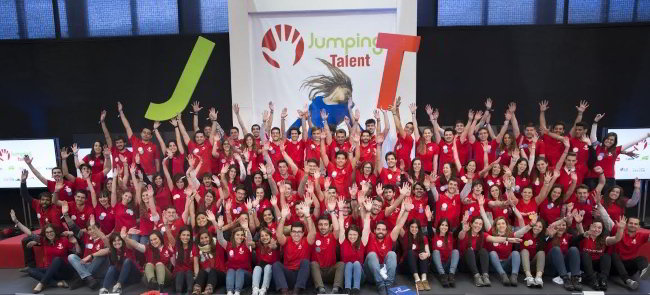Participantes al IV Jumpimg Talent